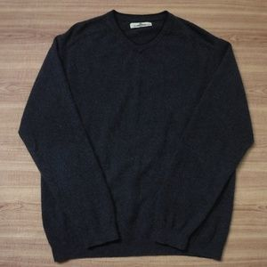Tommy Bahama Gray V-Neck Long sleeve Sweater